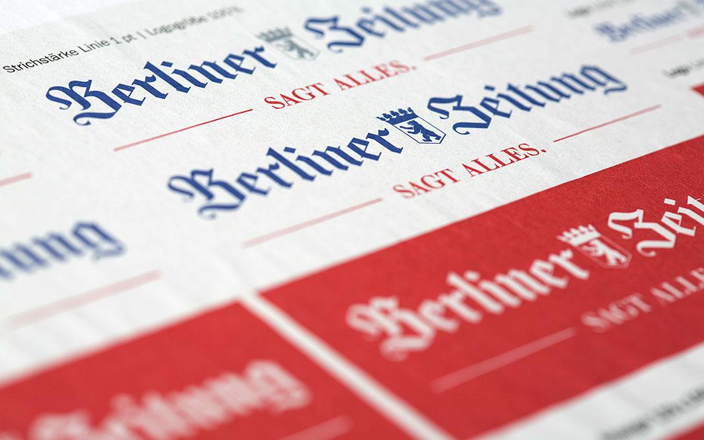 Berliner Zeitung Design