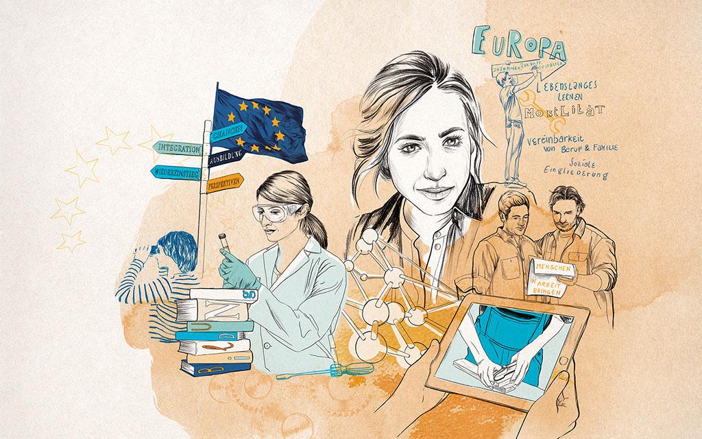 ESF Europäische Sozialfonds
